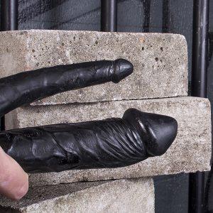 Kinky.Today Double Dildo Black 30 x 2,5 / 3 cm