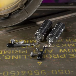 Tepelklemmen (x2) met 12 stapelbare magnetische gewichten
