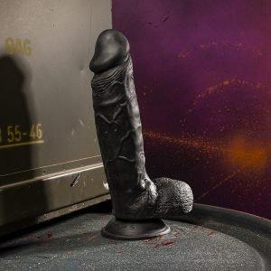 Kinky.Today Dildo Black 24 x 5,3 cm