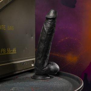 Kinky.Today Dildo Black 31 x 6 cm
