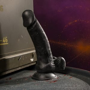 Kinky.Today Dildo Black 22 x 4,5 cm