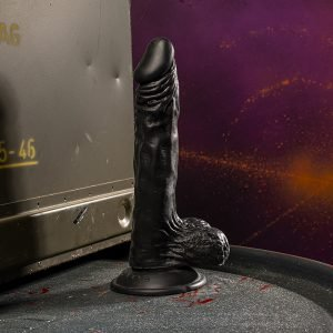 Kinky.Today Dildo Black 22,5 x 4 cm