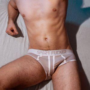 Slapshot Onderbroek Wit/Grijs