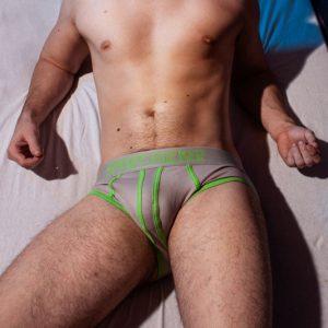 Slapshot Onderbroek Groen/Grijs