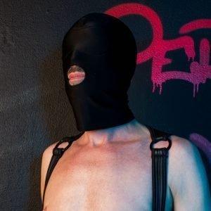 Spandex Masker Open Mond