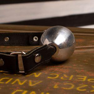 Aluminium Ovalen Ball Gag