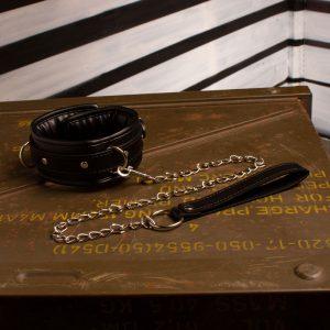 Halsband met Ketting