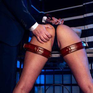 Thighcuffs Wine Red